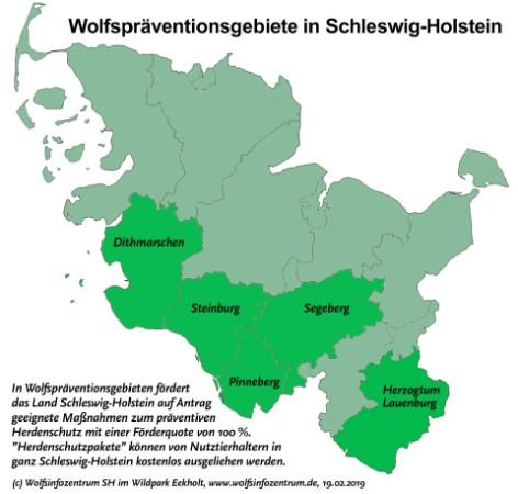 Holsteinische Schweiz Karte.Wolfsinformationszentrum Schleswig Holstein